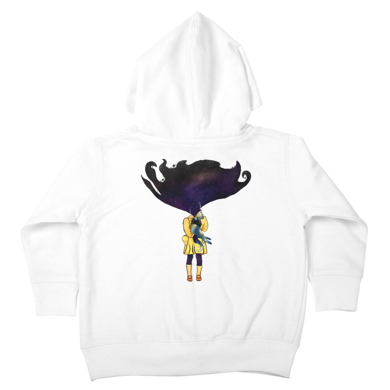 If the Solar System was a Girl Kids Toddler Zip-Up Hoody by selendripity's Artist Shop