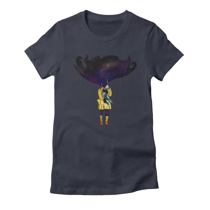 If the Solar System was a Girl Women's T-Shirt by selendripity's Artist Shop
