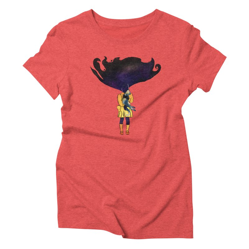 If the Solar System was a Girl Women's Triblend T-Shirt by selendripity's Artist Shop