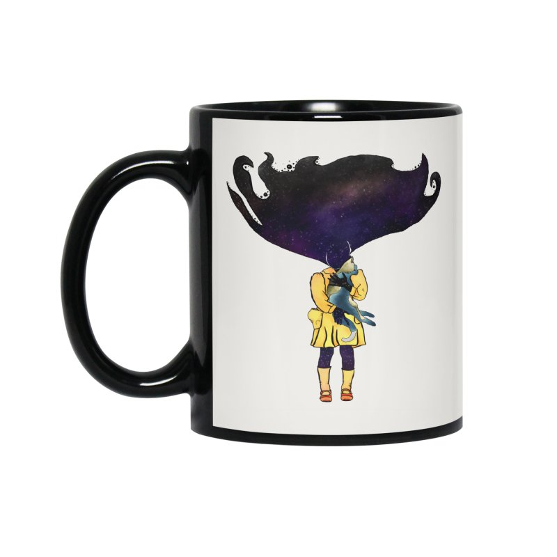 If the Solar System was a Girl Accessories Mug by selendripity's Artist Shop