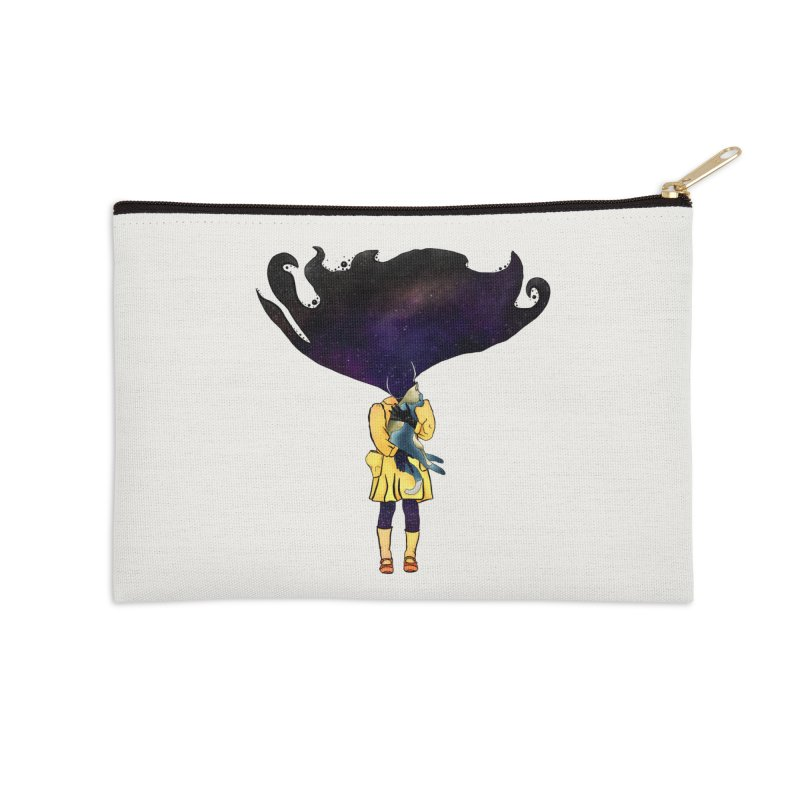 If the Solar System was a Girl Accessories Zip Pouch by selendripity's Artist Shop