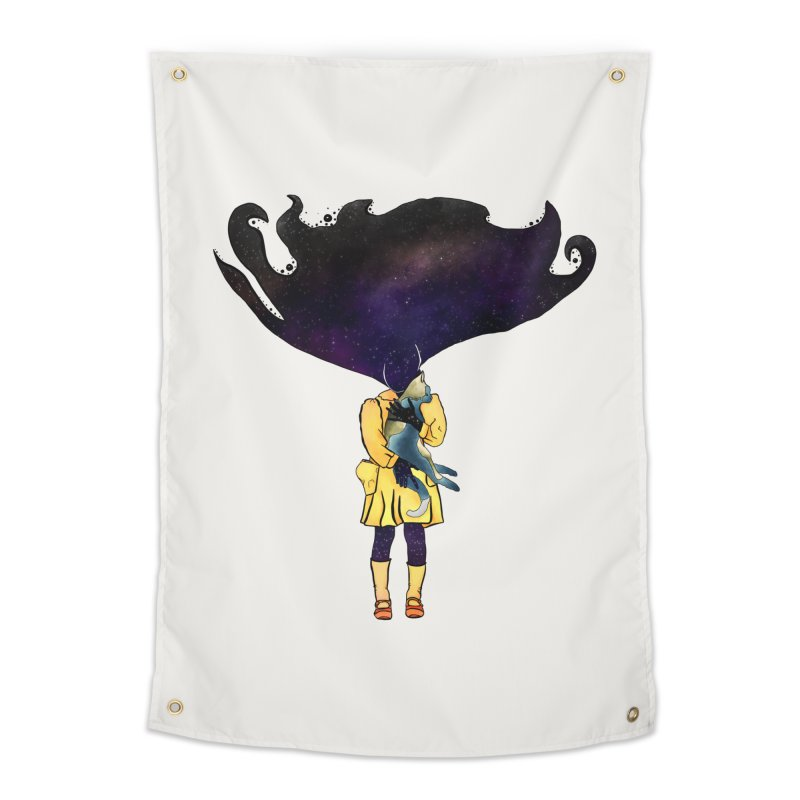 If the Solar System was a Girl Home Tapestry by selendripity's Artist Shop