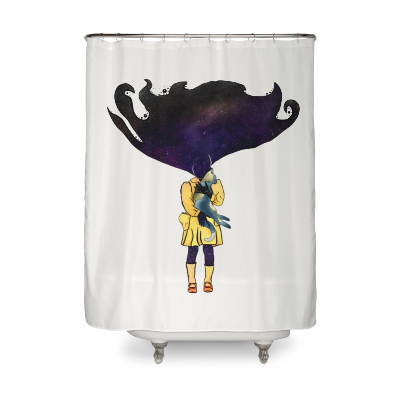 If the Solar System was a Girl Home Shower Curtain by selendripity's Artist Shop