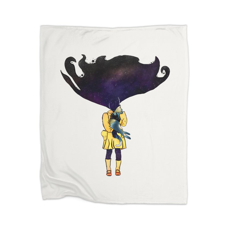 If the Solar System was a Girl Home Blanket by selendripity's Artist Shop