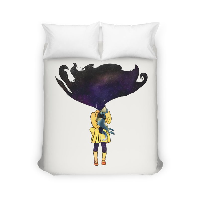 If the Solar System was a Girl Home Duvet by selendripity's Artist Shop