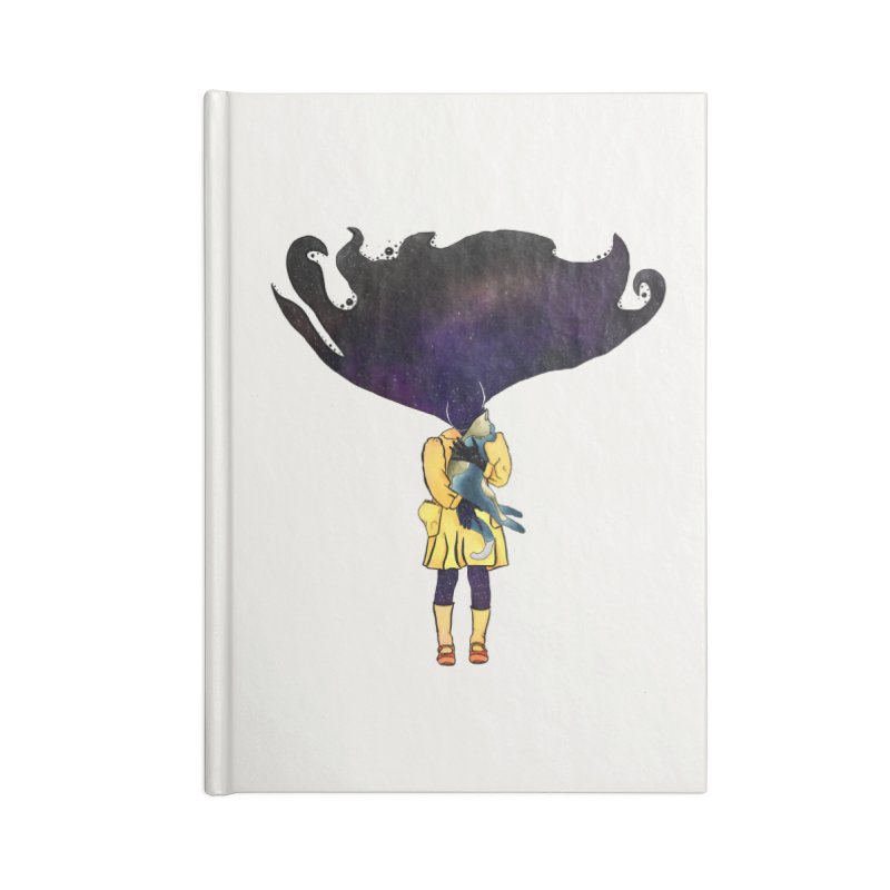 If the Solar System was a Girl Accessories Notebook by selendripity's Artist Shop