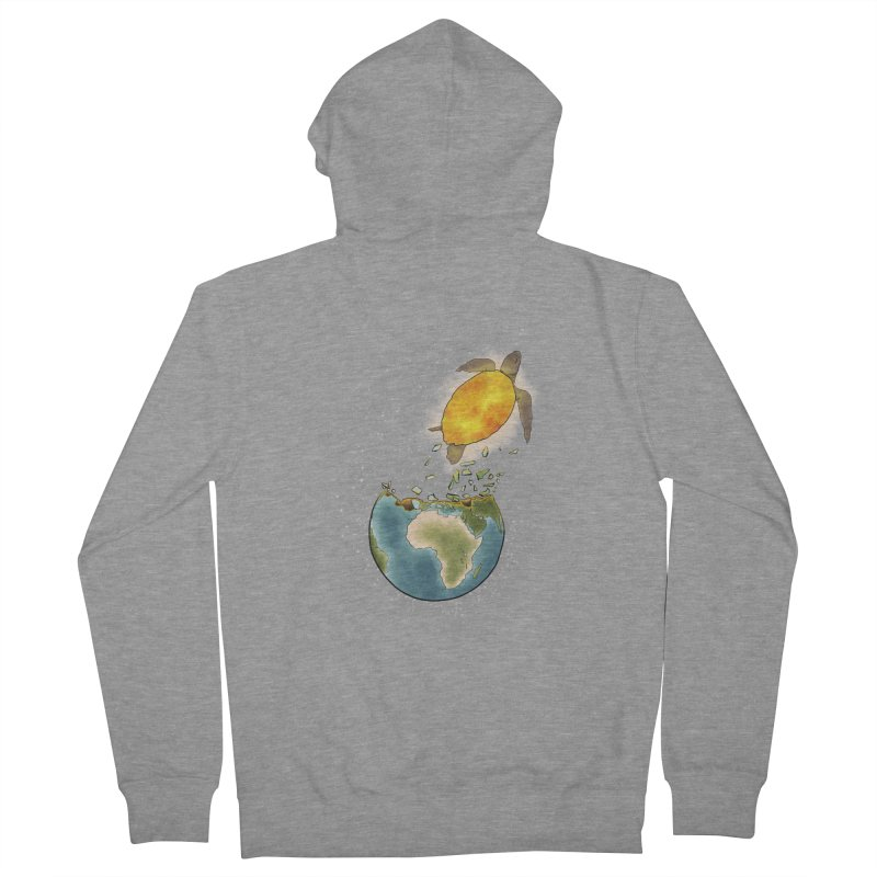 Climate changes the nature Women's Zip-Up Hoody by selendripity's Artist Shop