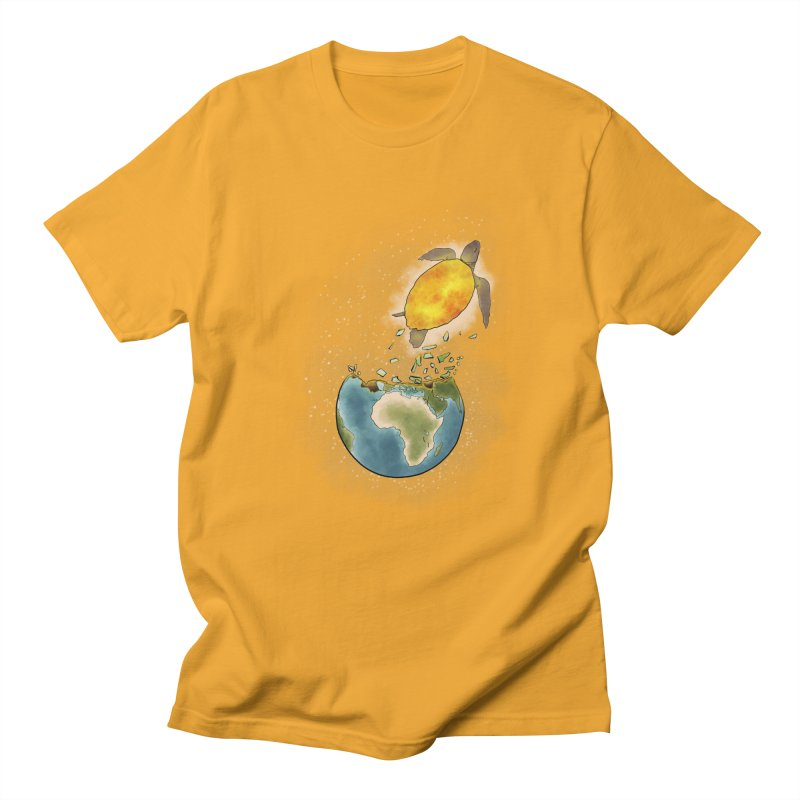 Climate changes the nature Men's T-Shirt by selendripity's Artist Shop