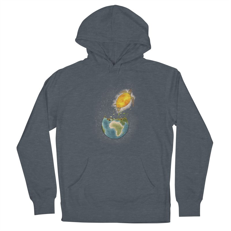 Climate changes the nature Men's French Terry Pullover Hoody by selendripity's Artist Shop