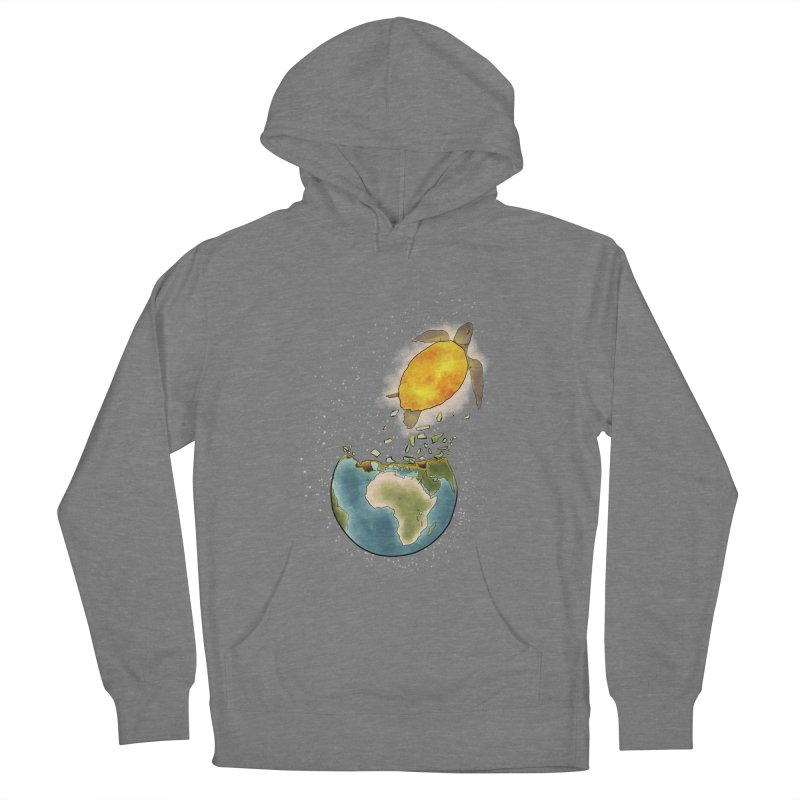 Climate changes the nature Women's French Terry Pullover Hoody by selendripity's Artist Shop