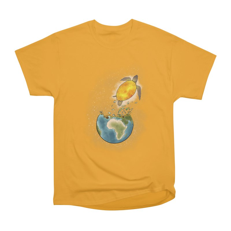 Climate changes the nature Men's Heavyweight T-Shirt by selendripity's Artist Shop
