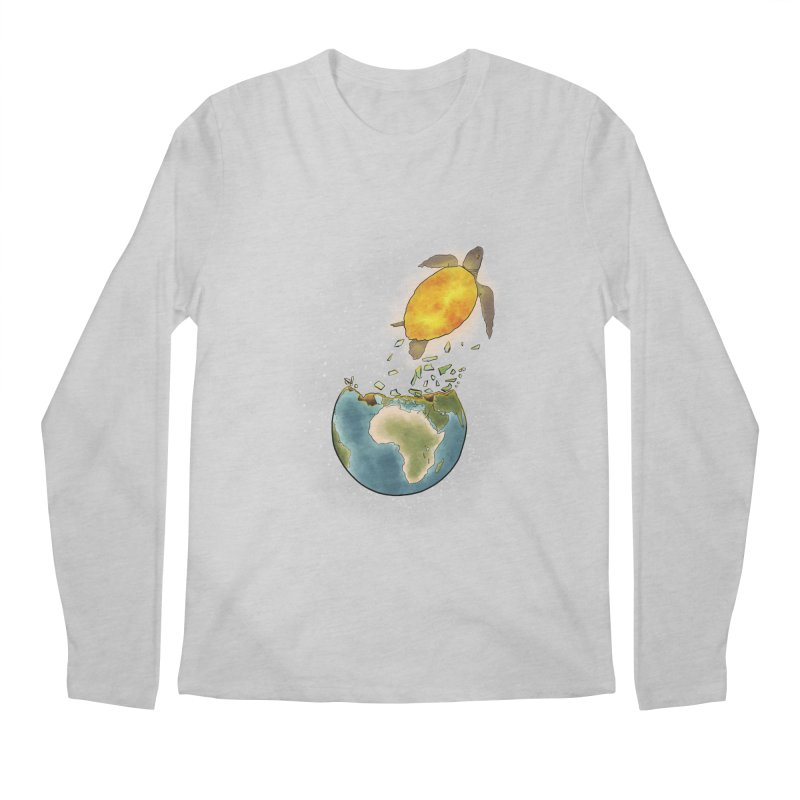 Climate changes the nature Men's Regular Longsleeve T-Shirt by selendripity's Artist Shop