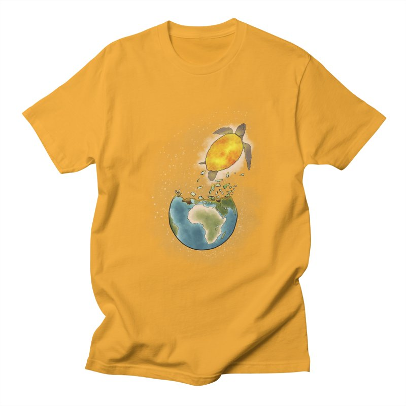 Climate changes the nature Men's Regular T-Shirt by selendripity's Artist Shop