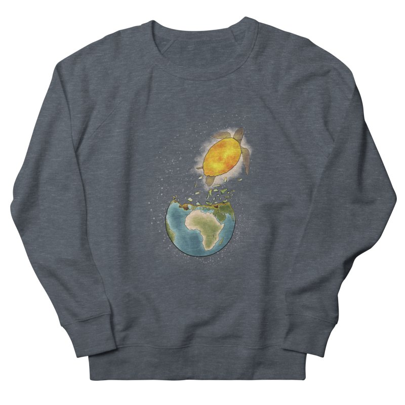 Climate changes the nature Women's French Terry Sweatshirt by selendripity's Artist Shop