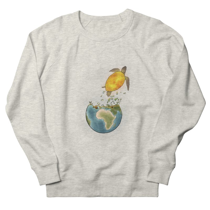 Climate changes the nature Men's French Terry Sweatshirt by selendripity's Artist Shop