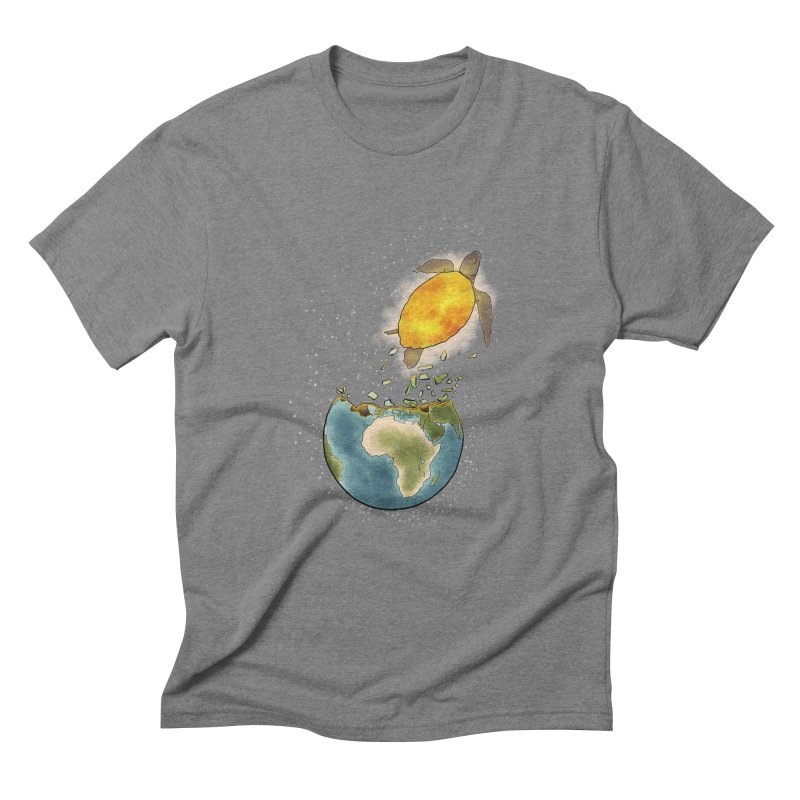 Climate changes the nature Men's Triblend T-Shirt by selendripity's Artist Shop