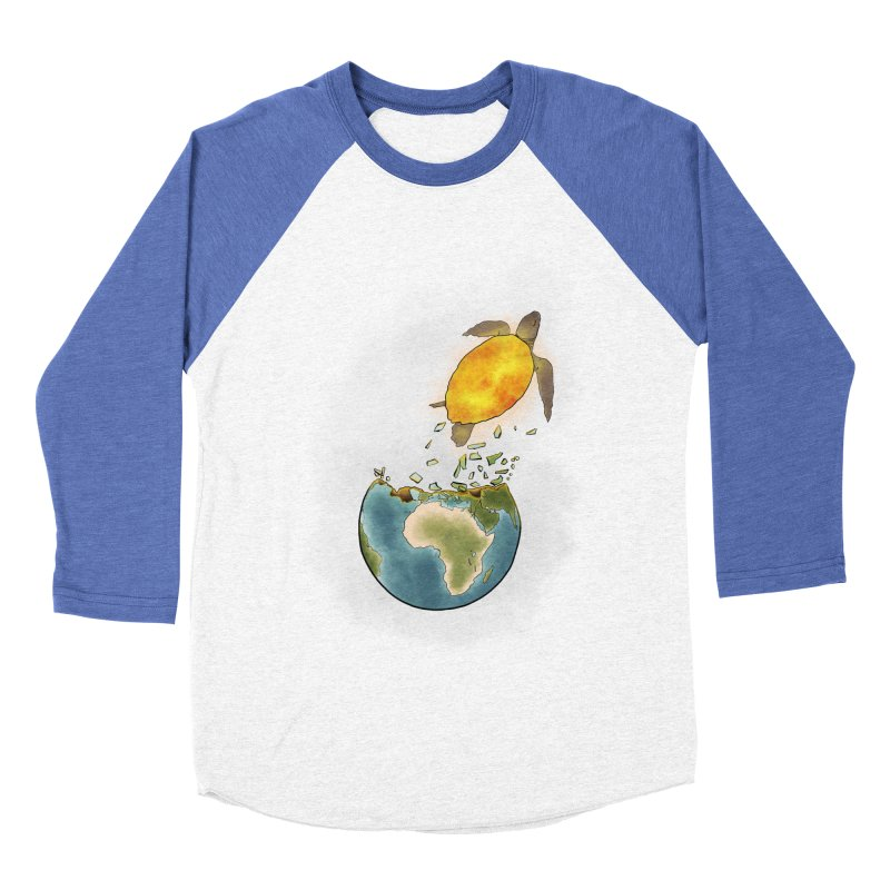 Climate changes the nature Men's Baseball Triblend Longsleeve T-Shirt by selendripity's Artist Shop