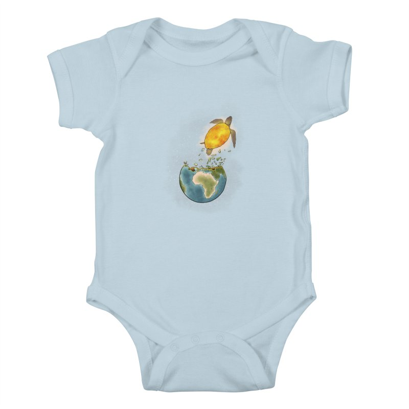 Climate changes the nature Kids Baby Bodysuit by selendripity's Artist Shop
