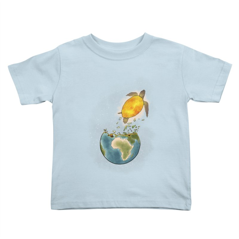 Climate changes the nature Kids Toddler T-Shirt by selendripity's Artist Shop