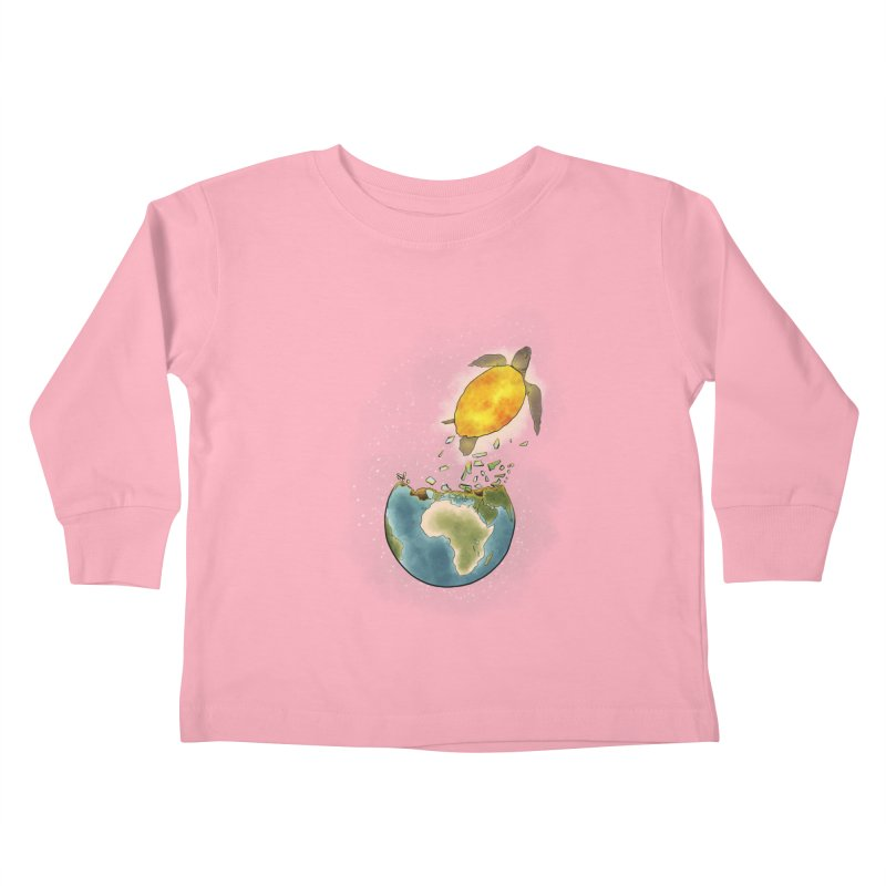 Climate changes the nature Kids Toddler Longsleeve T-Shirt by selendripity's Artist Shop