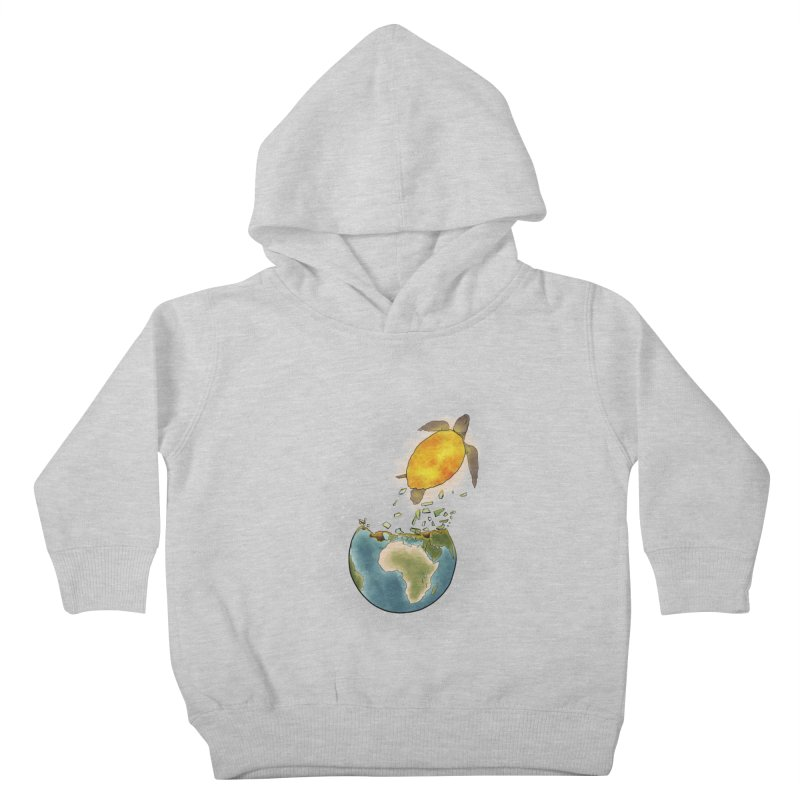 Climate changes the nature Kids Toddler Pullover Hoody by selendripity's Artist Shop