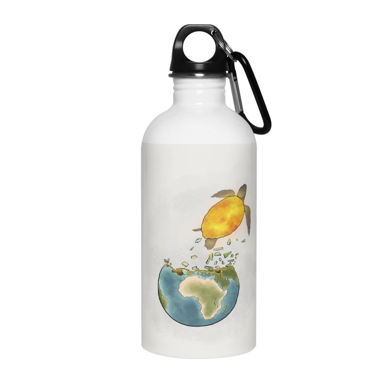 Climate changes the nature Accessories Water Bottle by selendripity's Artist Shop