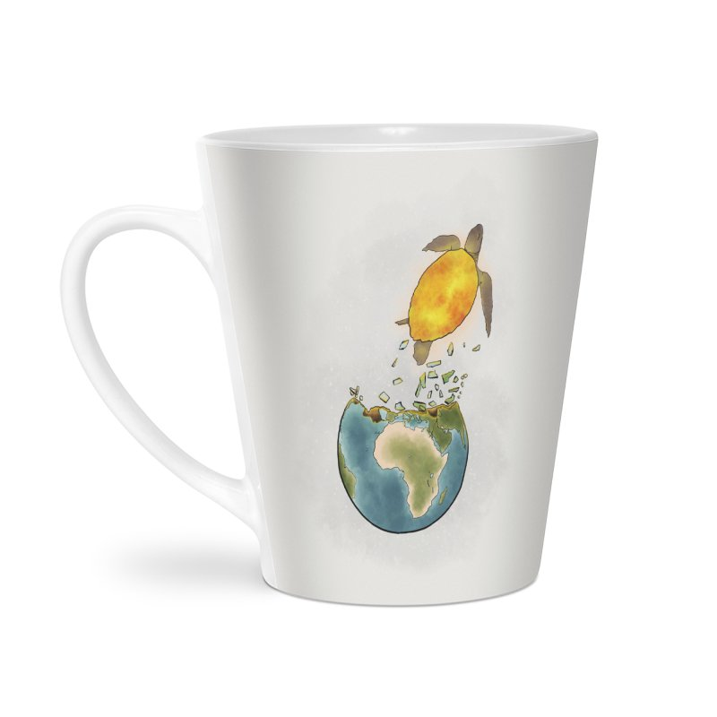 Climate changes the nature Accessories Latte Mug by selendripity's Artist Shop