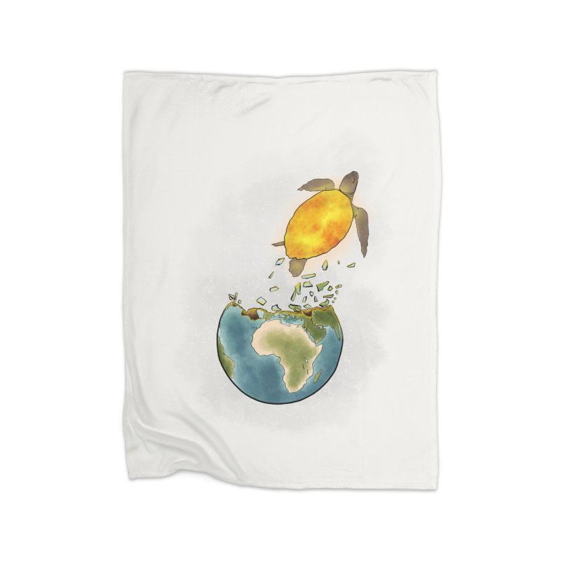Climate changes the nature Home Fleece Blanket Blanket by selendripity's Artist Shop