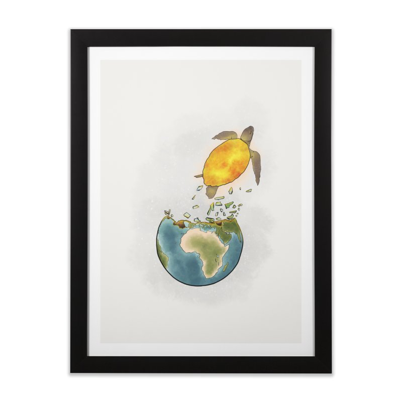 Climate changes the nature Home Framed Fine Art Print by selendripity's Artist Shop