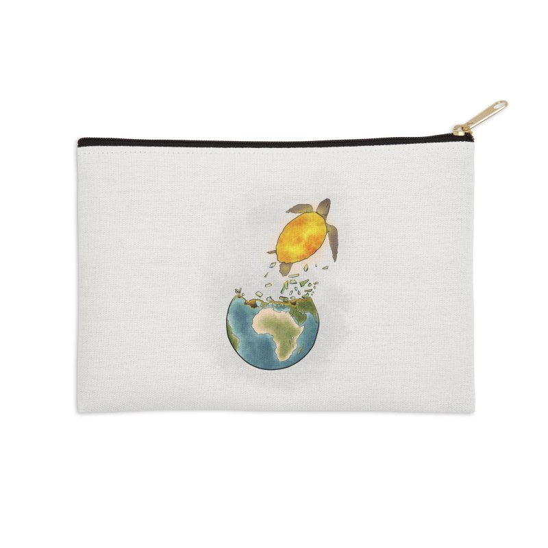 Climate changes the nature Accessories Zip Pouch by selendripity's Artist Shop