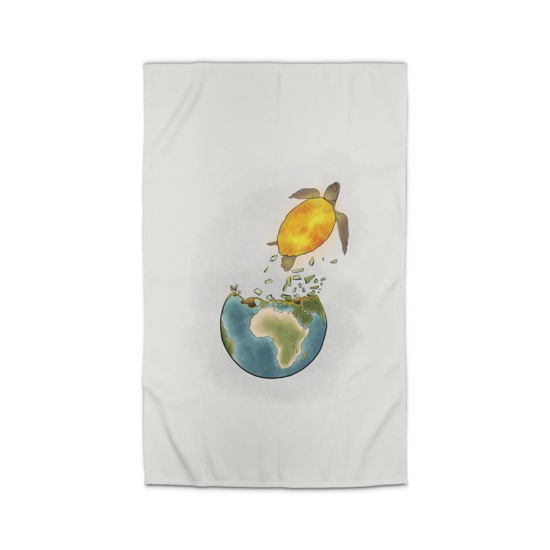 Climate changes the nature Home Rug by selendripity's Artist Shop