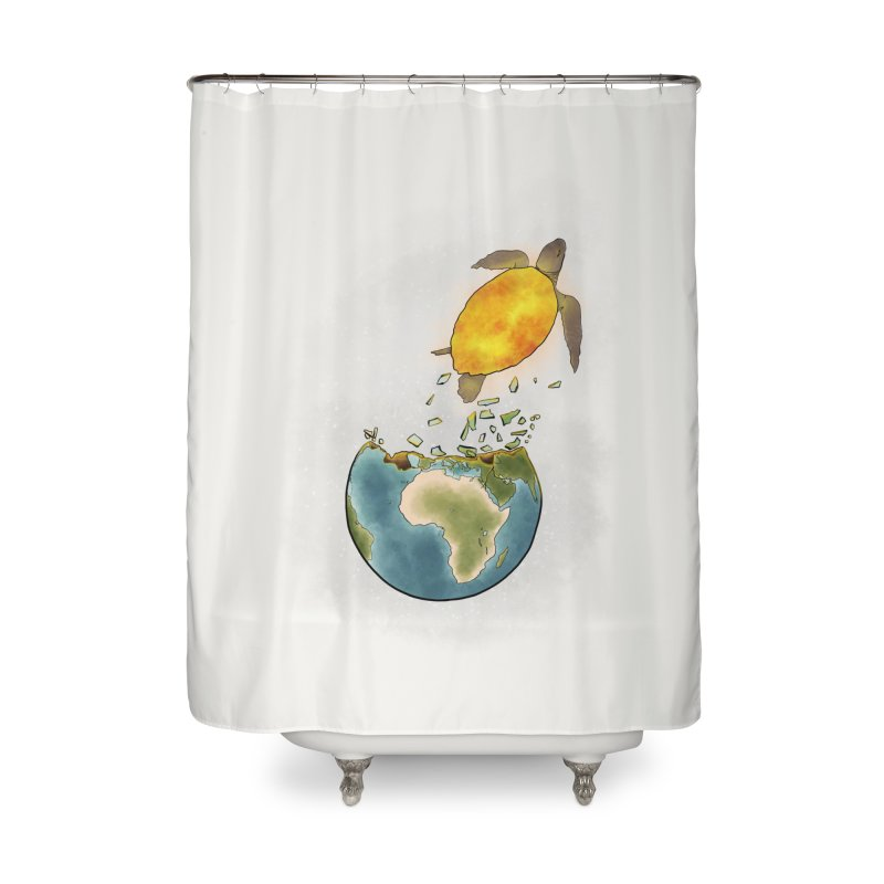 Climate changes the nature Home Shower Curtain by selendripity's Artist Shop