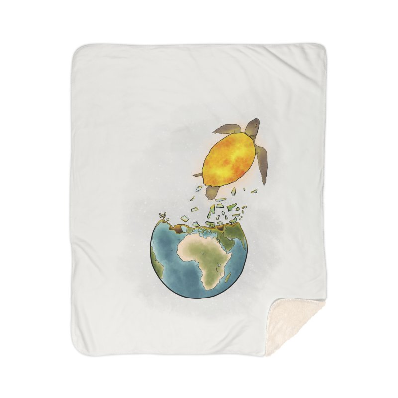 Climate changes the nature Home Sherpa Blanket Blanket by selendripity's Artist Shop