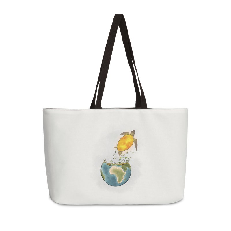 Climate changes the nature Accessories Weekender Bag Bag by selendripity's Artist Shop