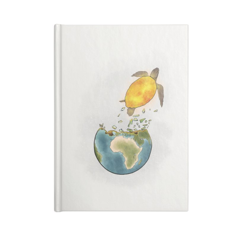 Climate changes the nature Accessories Lined Journal Notebook by selendripity's Artist Shop