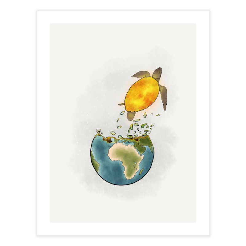 Climate changes the nature Home Fine Art Print by selendripity's Artist Shop