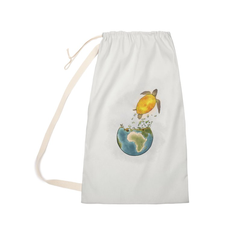 Climate changes the nature Accessories Laundry Bag Bag by selendripity's Artist Shop