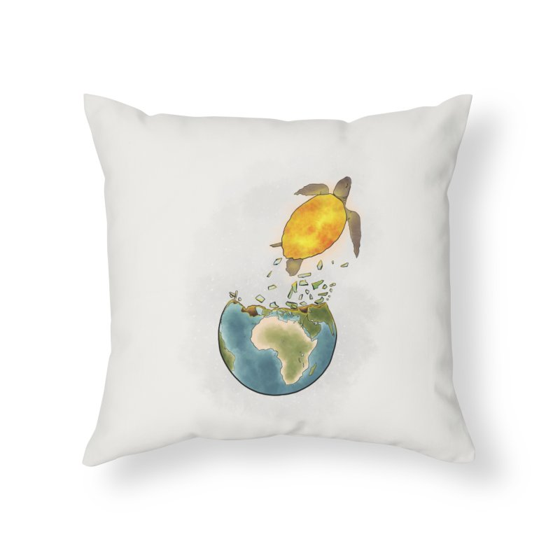 Climate changes the nature Home Throw Pillow by selendripity's Artist Shop