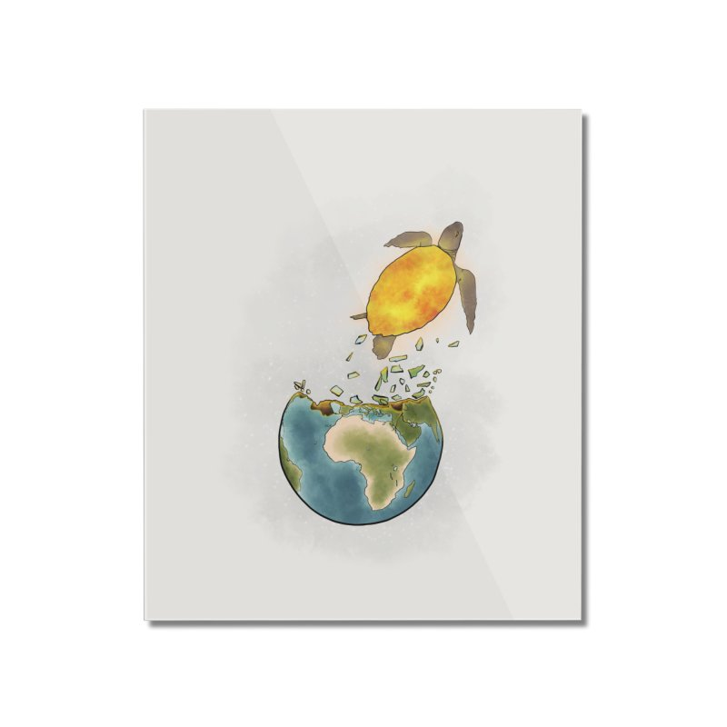 Climate changes the nature Home Mounted Acrylic Print by selendripity's Artist Shop
