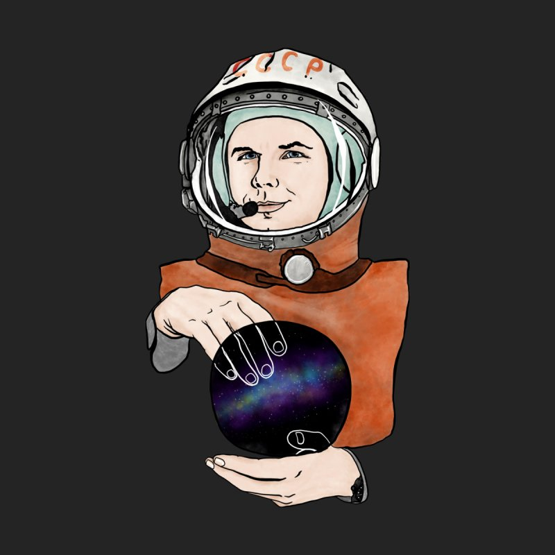 Yuri Gagarin. Space day. Men's V-Neck by selendripity's Artist Shop