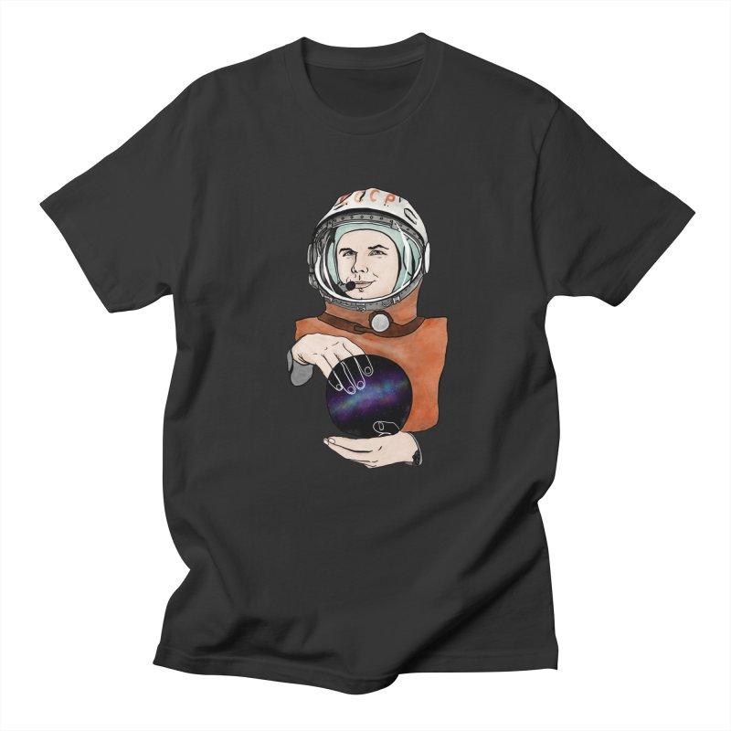Yuri Gagarin. Space day. Men's T-Shirt by selendripity's Artist Shop