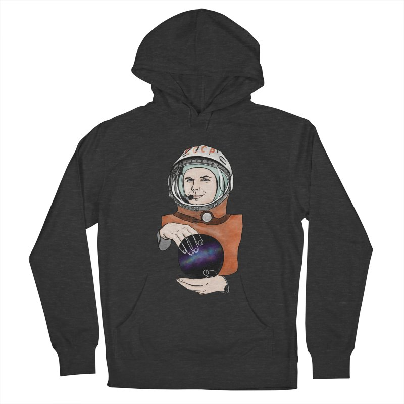 Yuri Gagarin. Space day. Men's French Terry Pullover Hoody by selendripity's Artist Shop