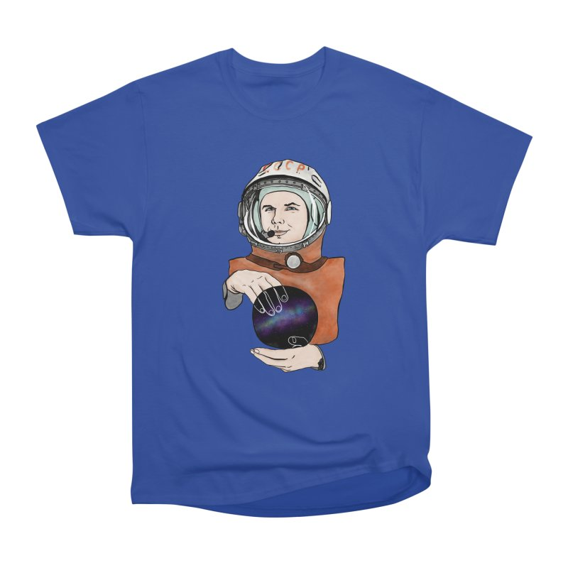 Yuri Gagarin. Space day. Men's Heavyweight T-Shirt by selendripity's Artist Shop