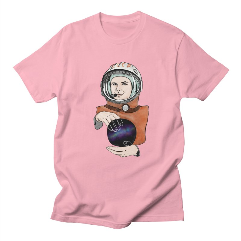 Yuri Gagarin. Space day. Women's Regular Unisex T-Shirt by selendripity's Artist Shop