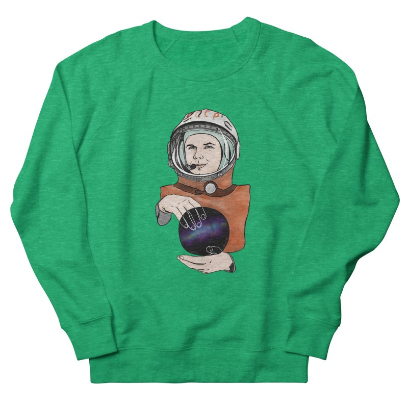Yuri Gagarin. Space day. Women's Sweatshirt by selendripity's Artist Shop