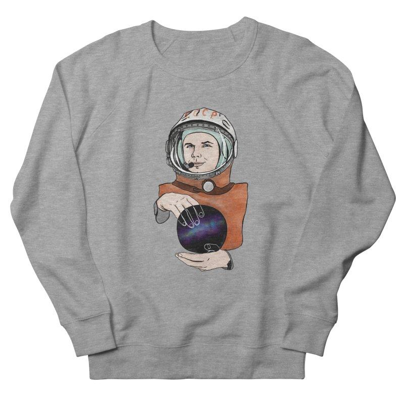 Yuri Gagarin. Space day. Women's French Terry Sweatshirt by selendripity's Artist Shop