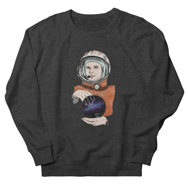 Yuri Gagarin. Space day. Men's French Terry Sweatshirt by selendripity's Artist Shop