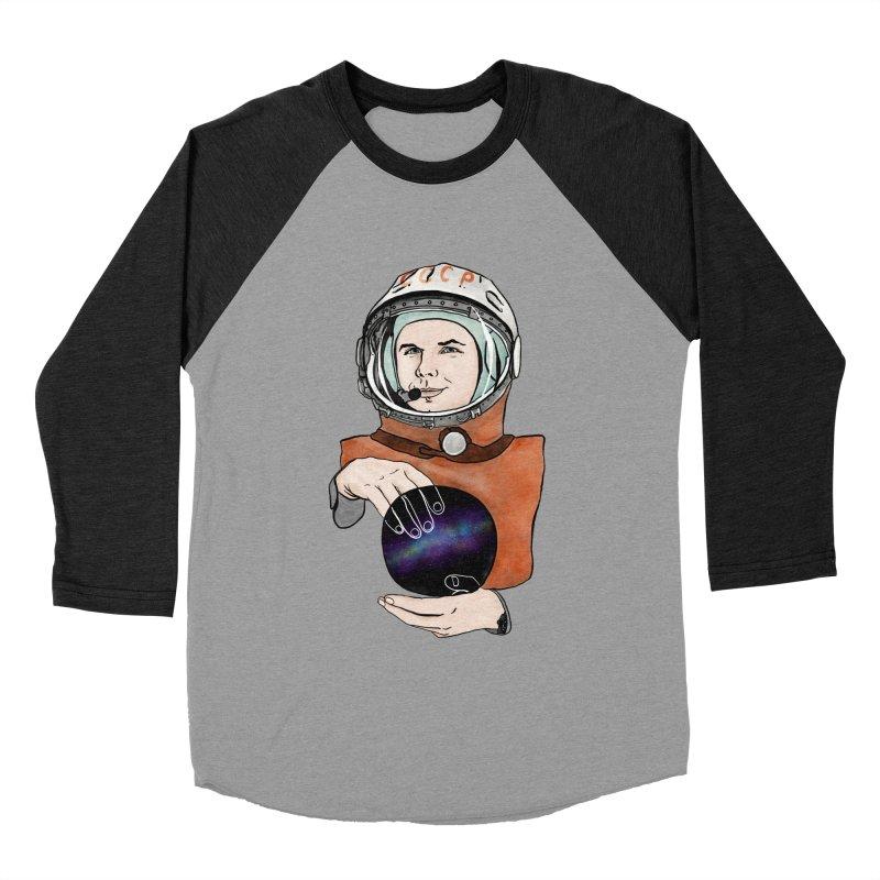 Yuri Gagarin. Space day. Women's Baseball Triblend Longsleeve T-Shirt by selendripity's Artist Shop