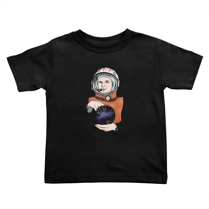 Yuri Gagarin. Space day. Kids Toddler T-Shirt by selendripity's Artist Shop