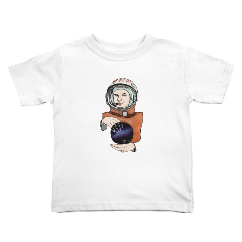 Yuri Gagarin. Space day. Kids Toddler T-Shirt by selendripity's Artist Shop